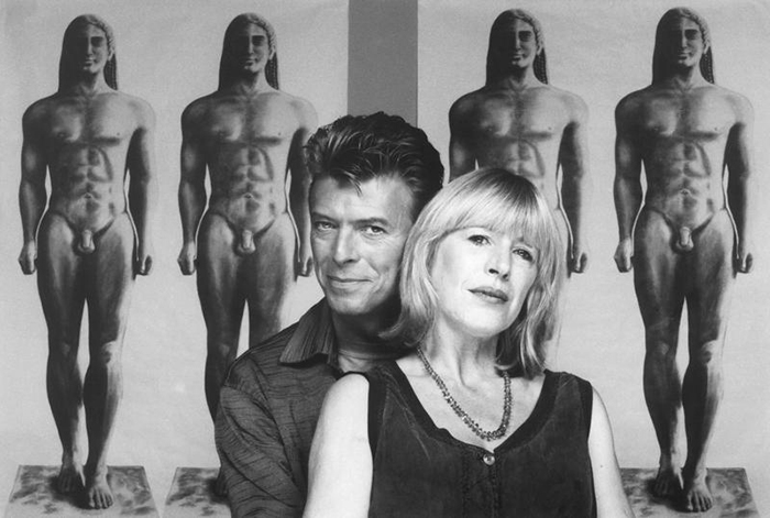 Photo by Brian Aris from 1991 when Bowie was promoting Tin Machine II