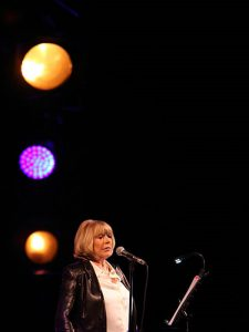 Marianne at the Roundhouse London by Burak Cingi